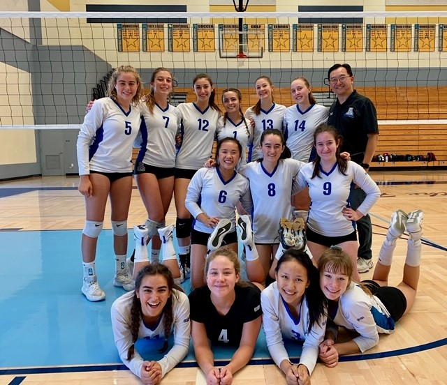 Dons JV Volleyball Shines at East County Tournament