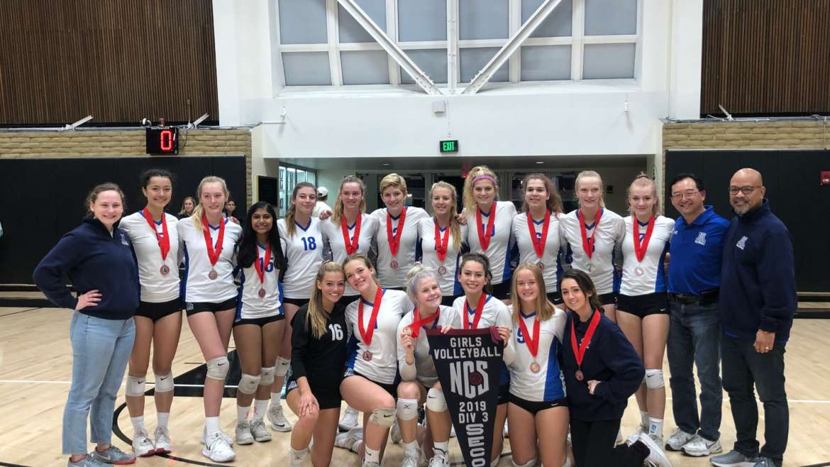 Dons Volleyball Finishes 2nd in NCS Division III
