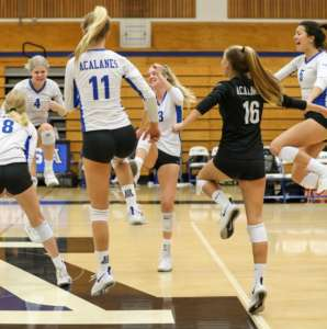 Volleyball Dons Cruise to Victory in Round 2