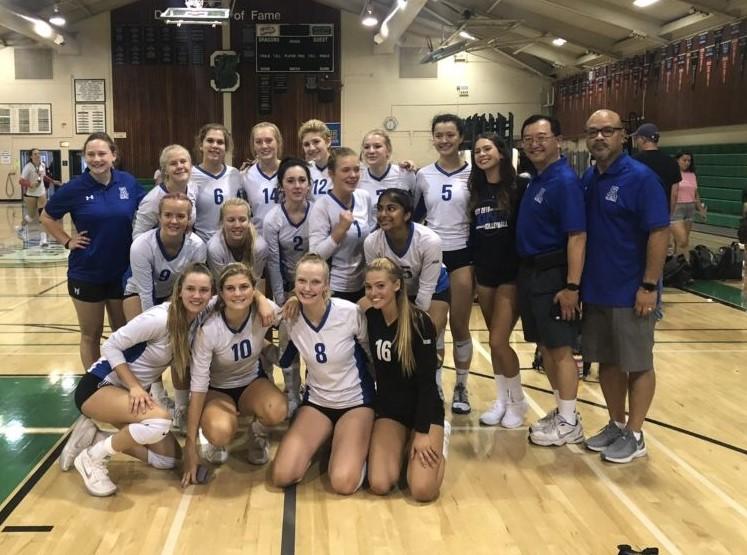 Dons Varsity Volleyball Takes  Second at Paganini Invitational