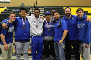 Correa, Early, and Williams medal at 2019 San Ramon Valley High School Invitational Wrestling Tournament